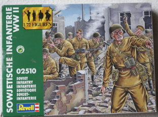 Revell 1/72 RV02510 Russian Infantry (WW2)